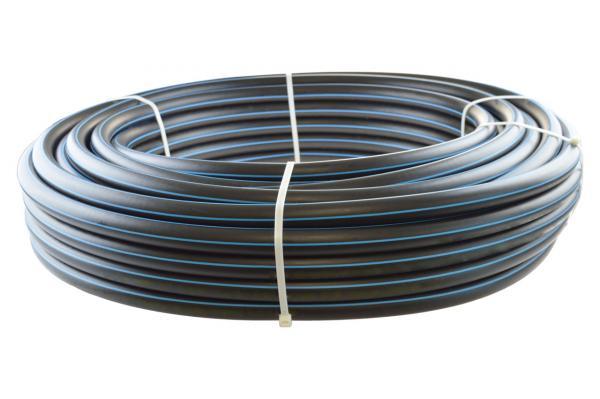PE-HD Rohr, Trinkwasser-Druckrohr, DVGW, PN 10/16
