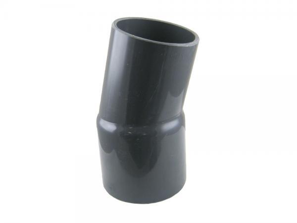 PVC-U Rohrbogen 15° mit Klebemuffe