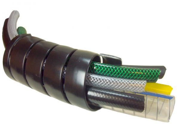 PVC Bündelspirale zum Schützen von Schläuchen