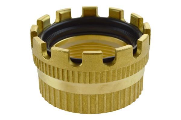 TW Kupplung mit Innengewinde Typ MK / Dichtringstück, Messing, EN 14420-6