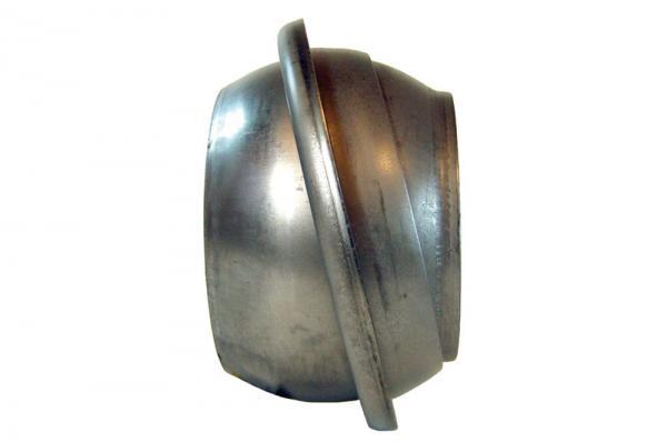 V-Kupplung, Stahl, schwarz zum Anschweißen