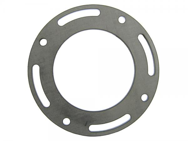 Stahlflansch rund, einstellbar