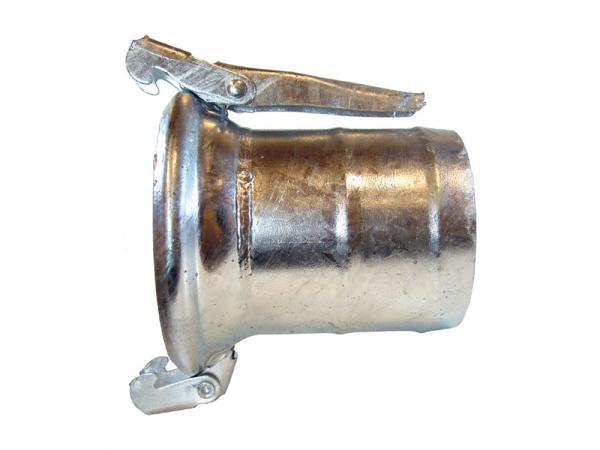 M-Kupplung mit Schlauchtülle, verzinkt