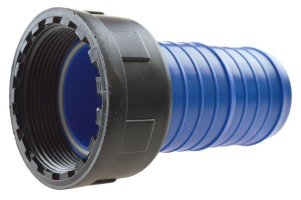 FLAT-HOSE Innengewinde-Anschlussverschraubung für Flachschlauch mit O-Ring