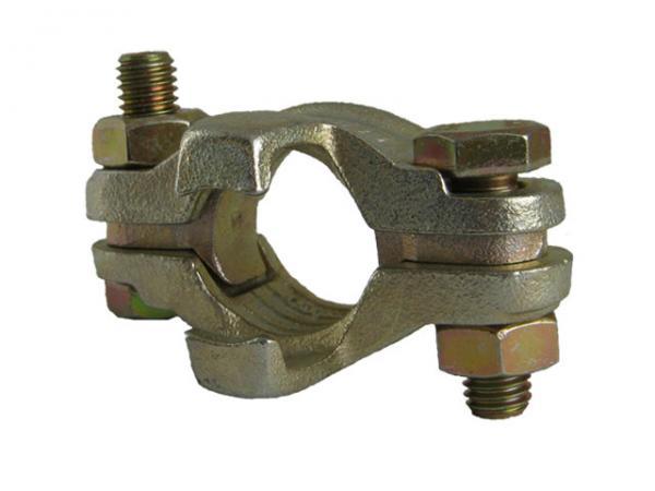 Schlauchklemmen 2-teilig mit losen Zungen und Sicherungsklauen - DIN 20039