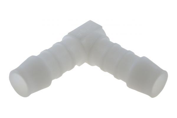 Winkel 90° mit Schlauchtüllen, Kunststoff