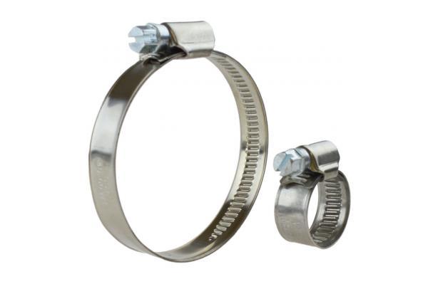 Spannbereich 50-70 mm Bandbreite 9 mm 25 St/ück Schlauchschellen Edelstahl V2A W4 DIN 3017