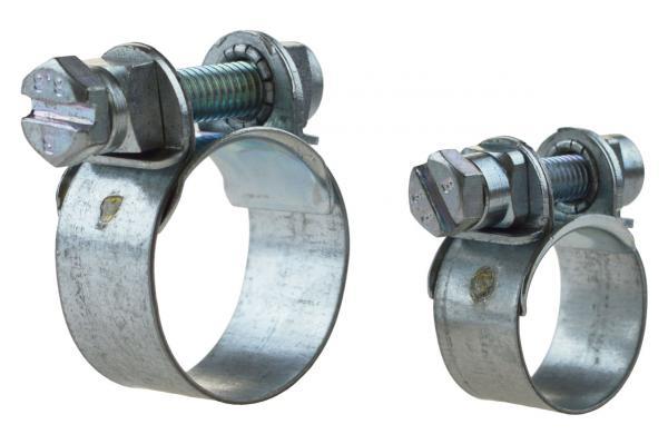 Spannbackenschelle W1 - verzinkt für Bremsschläuche, DIN 3017