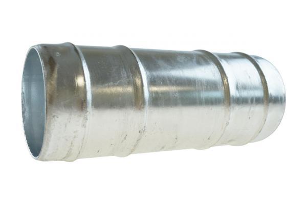 Doppelschlauchtülle, Verbindungstülle, Stahl verzinkt