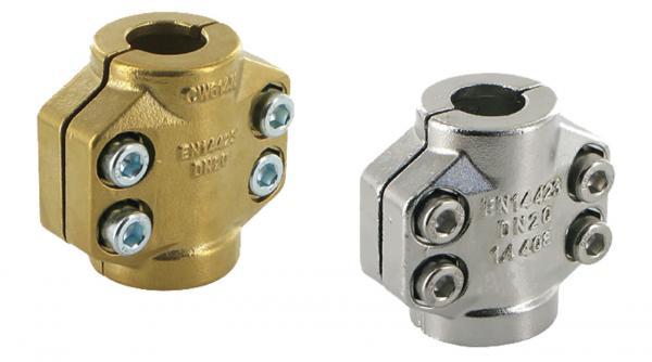 Klemmschalen für Dampfschlaucharmaturen, EN 14423