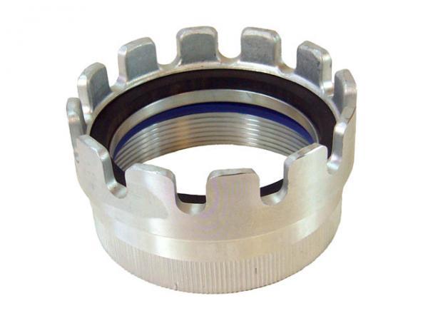 TW Kupplung mit Innengewinde Typ MK / Dichtringstück, Aluminium, EN 14420-6