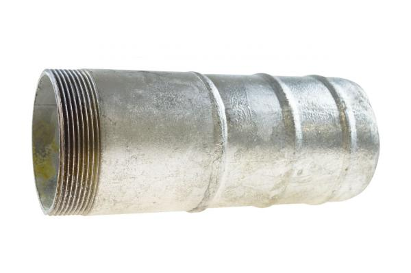 Schlauchtülle mit Außengewinde, Stahl verzinkt