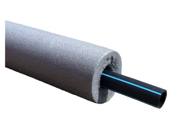 Rohrisolierung aus PE, 9 mm stark
