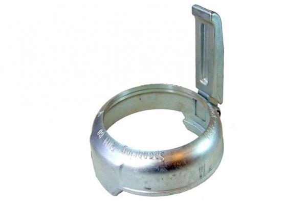 TW Spannring mit Hebel, Aluminium