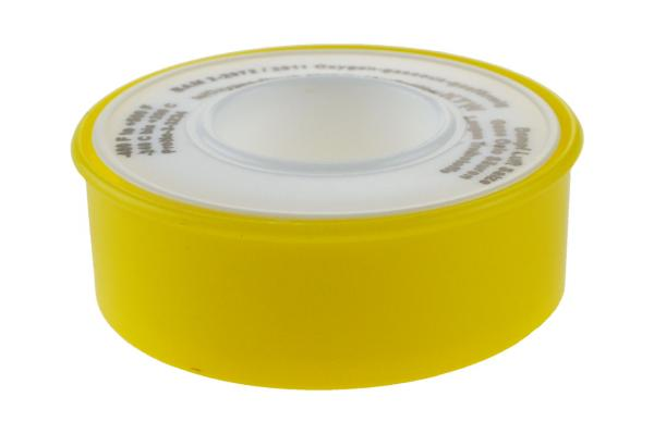 Teflon Gewindedichtband (PTFE) 12 x 0,1 mm - 12 Meter, DVGW