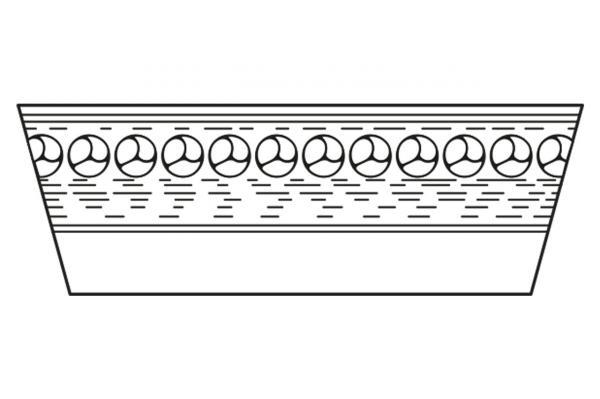 Breitkeilriemen 47 x 13